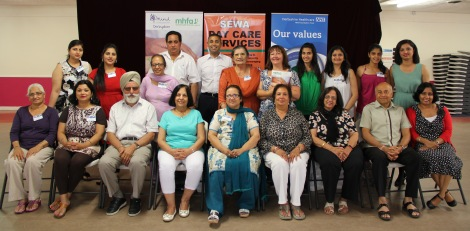 Bilingual mental health first aid training- 25 July 2014- participants w...